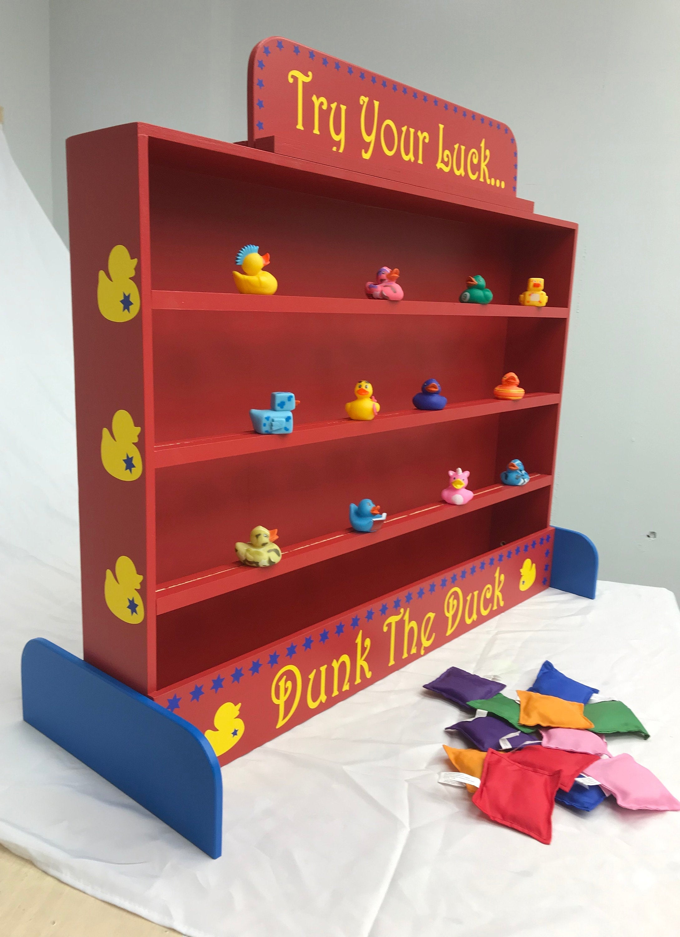 Target Gallery Duck Shooting Gallery Dunk A Duck Game Lawn Game Carnival Games Backyard Game Carnival Booth Games Birthday Party Game