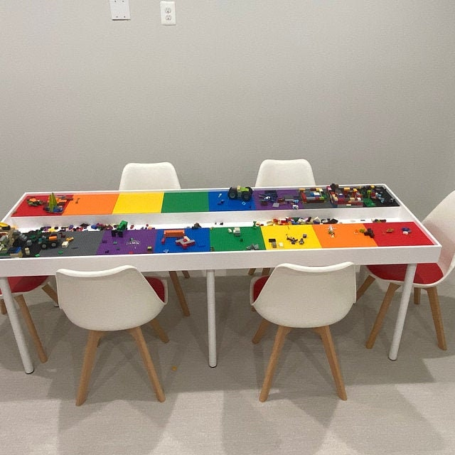 Huge Commercial Sized Building Bricks, Lego Table With Chairs India