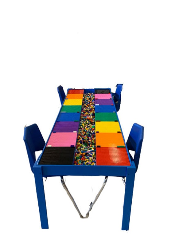 Superieur Huge, Commercial Sized, Big Kids Lego® Table, Activity Table, STEM TABLE,  Train Table, Art Table, Lego® Table With Storage