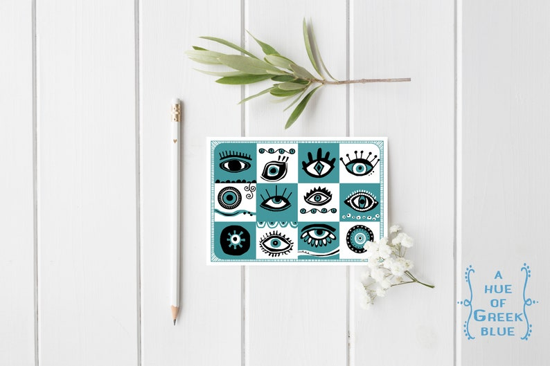 Eye Obsessed Postcard