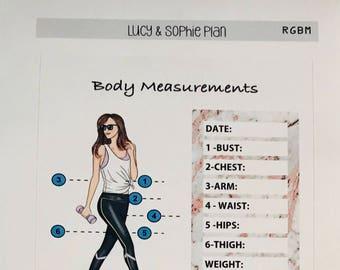 Rose Body Measurements Tile