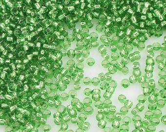 MIYUKI-THREAD-16 1 pc Miyuk Beading Thread - Peridot Green 100/% nylon 55yds 50m