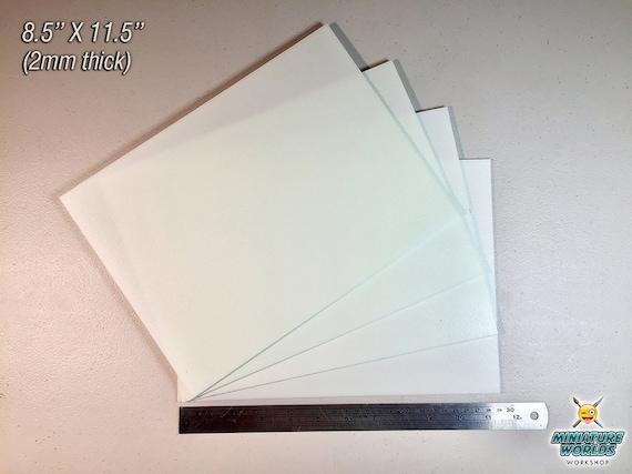 4 PC XPS Hobby Foam Sheet Set (2-3mm) | Miniatures | Tabletop Gaming |  Wargaming Scenery | War-gaming | Warhammer | Hobby | Craft | Terrain