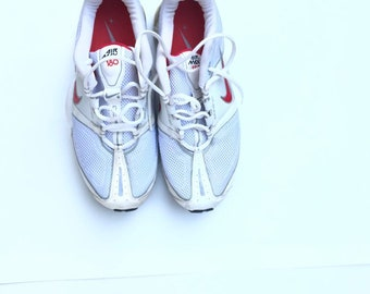 8c5f037a5 Nike Air Max 180 women sneakers shoes tie up size 10 red white