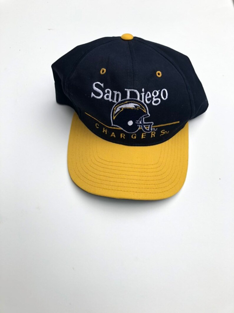 d1562e7b Vintage San Diego Chargers NFL Football snapback cap hat One Size Blue