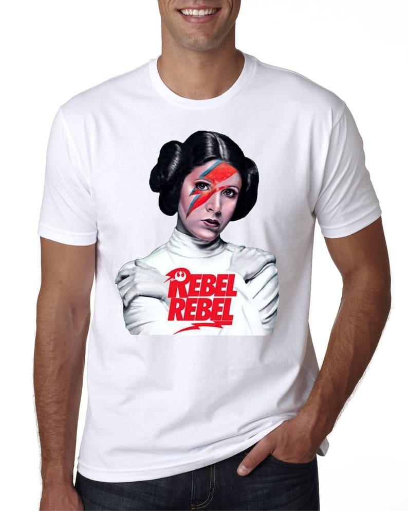 e375a67d203113 Star Wars Princess Leia 'Rebel Rebel Custom tshirt | Etsy