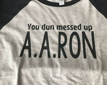 A.A.RON shirt