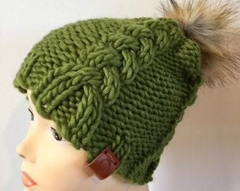 Green winter hat  e0cf13116df