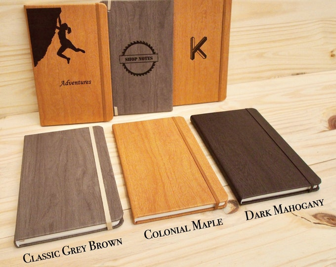 Engraved Notebook - Personalized