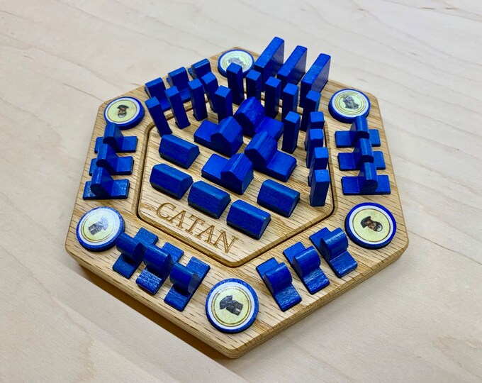 Wooden Catan Organizer