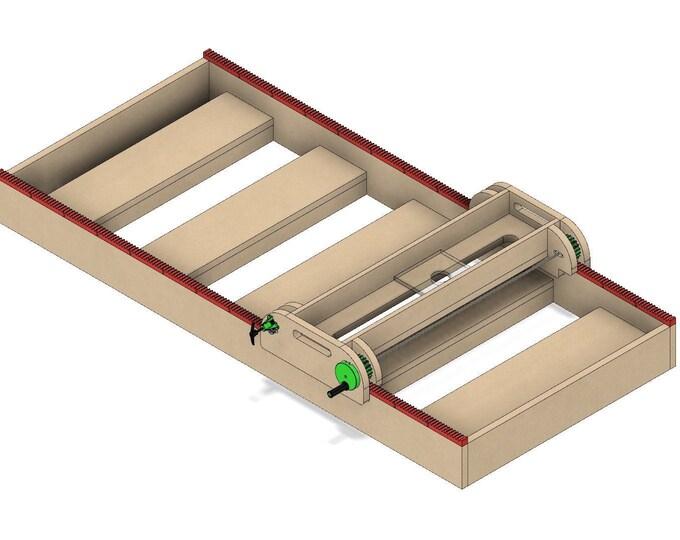 Plans for Slab Flattening Mill DIY