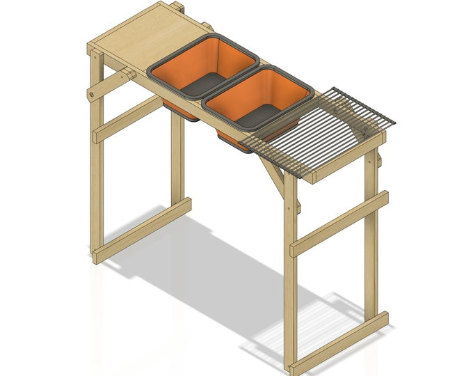 Plans for Camping Wash Station - Instant Download