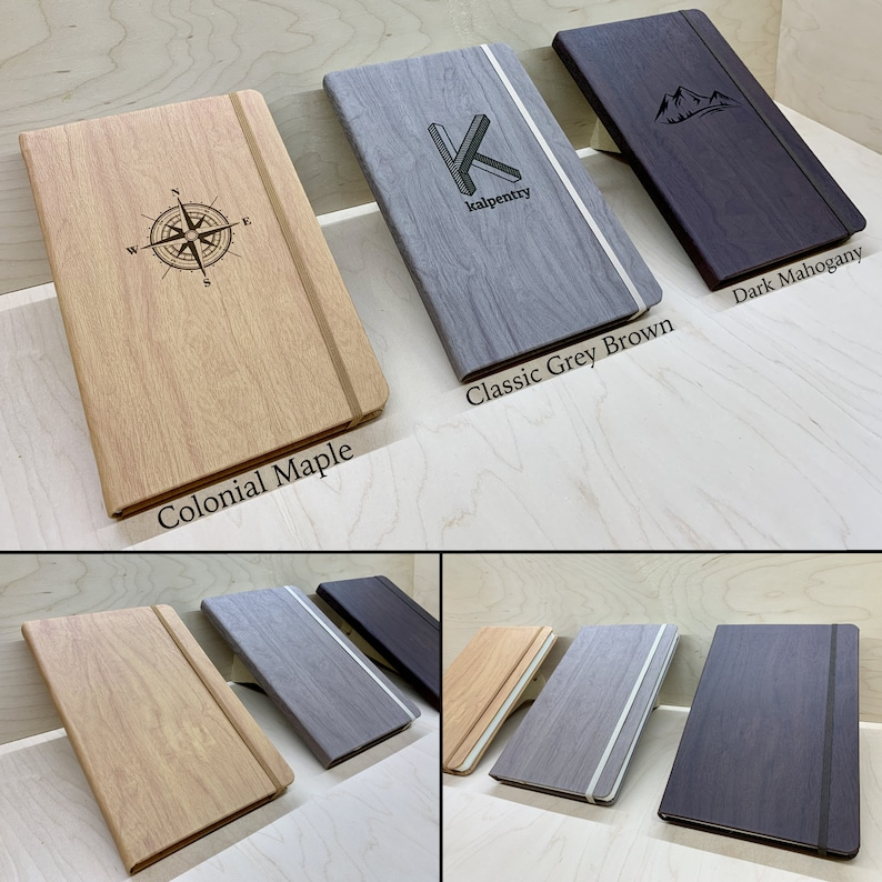Engraved Notebook  Personalized image 0