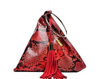 4bc40417173b Red evening bag