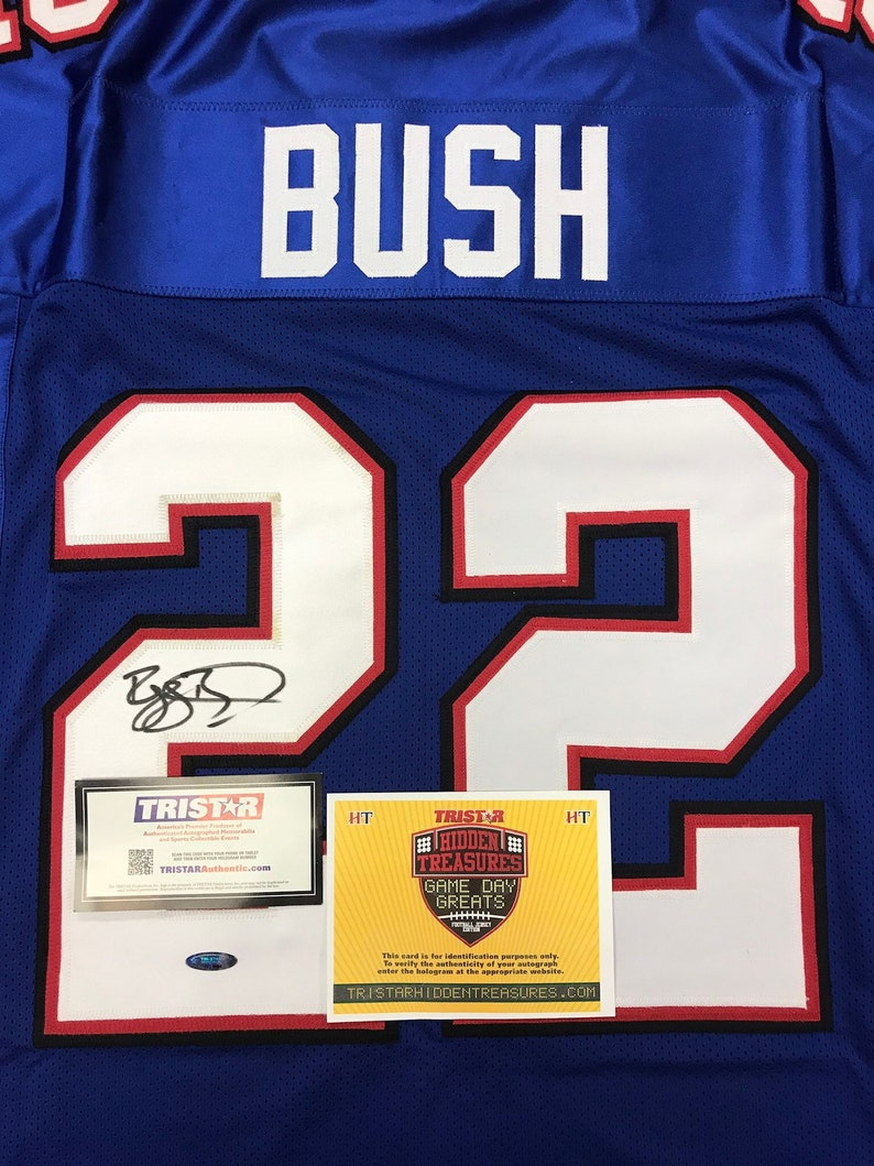 Sports Collectibles Reggie Bush Hand Signed Autograph Buffalo ...