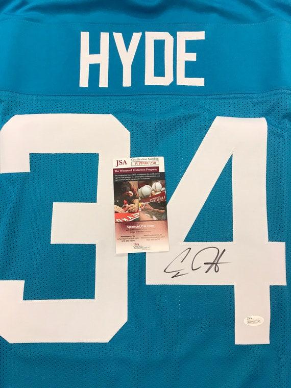 new concept 322ec d03e1 Carlos Hyde Hand Signed Autographed Jersey