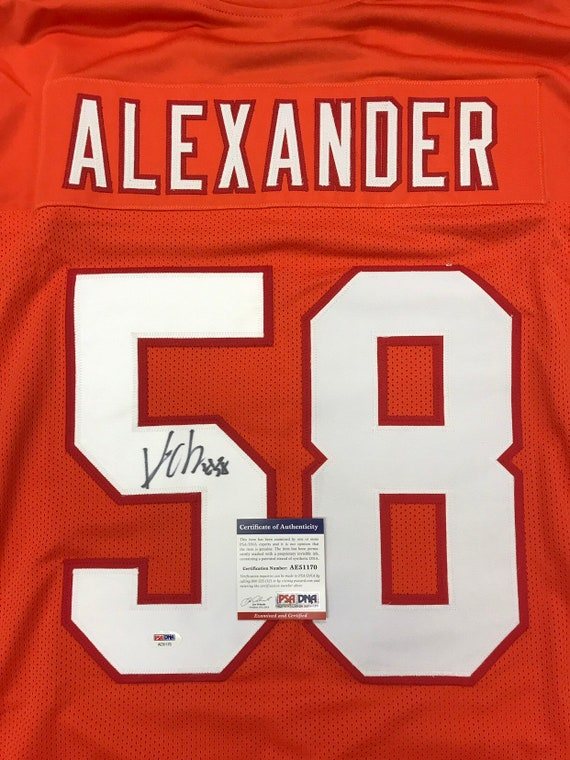 Kwon Alexander Hand Signed Autographed Jersey | Etsy