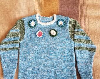 Handmade sweater for a girl