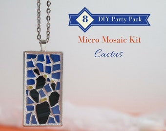 Diy make your own art 8 pack party activity diy teen gift cactus diy make your own art 8 pack party activity womens diy gift ideas labor day diy glass mosaic jewelry kit do it yourself kit solutioingenieria Image collections