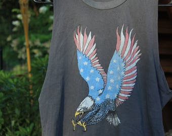 Brandy Melville American Eagle Cropped Tee