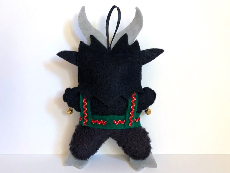 Krampus Felt Plush Ornament