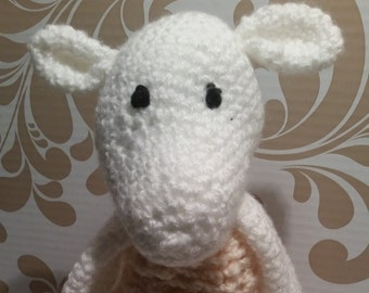 Shay the Merino Sheep Crocheted Stuffed Animal