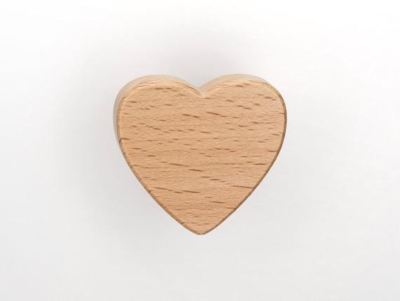 Mobelknopf Herz Mobelgriffe Mobelkopfe Fur Kinderzimmer Etsy