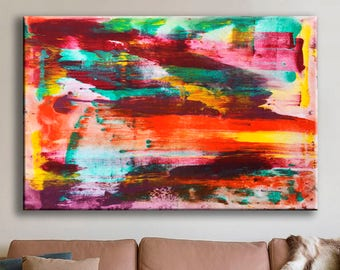 Large abstract art Original painting Wall hanging Large wall art Abstract painting Bedroom Decor office Canvas Wall Art Abstract Canvas Art