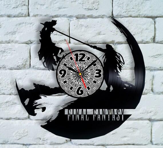 Final Fantasy Xv Cosplay Vinyl Clock Final Fantasy Xiv Legend