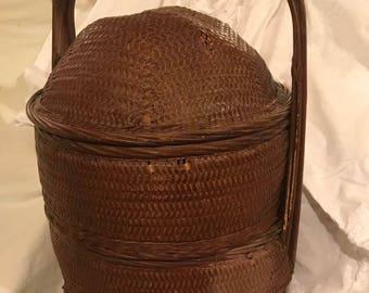 Vintage Chinese Wedding Basket