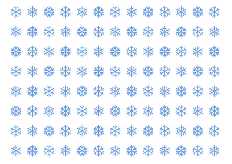 photo relating to Snowflakes Printable called Snowflakes printable wrapping paper