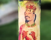 Snoop Dogg Prayer Candle | Hip Hop Gifts | Pop Culture Gifts | Rapper Gifts | Funny Candle | Weed Culture | Celebrity Gifts