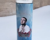 Mac Miller Prayer Candle | Mac Miller Decor  |Hip Hop Gifts | Pop Culture Gifts | Rapper Gifts | Funny Candle | Room Decor | Celebrity Gifts