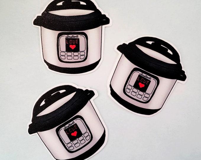 Instant Pot Sticker   Instant Love Sticker   Instapot Sticker   Pressure Cooker Sticker   Slow Cooker   Instant Pot Love