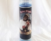 Notorious BIG Biggie Prayer Candle | Big Poppa | Hip Hop Gifts| Old School | 90s Rap Aesthetic | Rapper Gifts | Biggie Smalls | Funny Candle