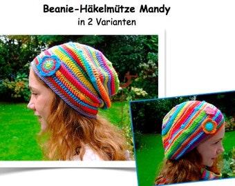 ebook Guide for a crochet cap Mandy