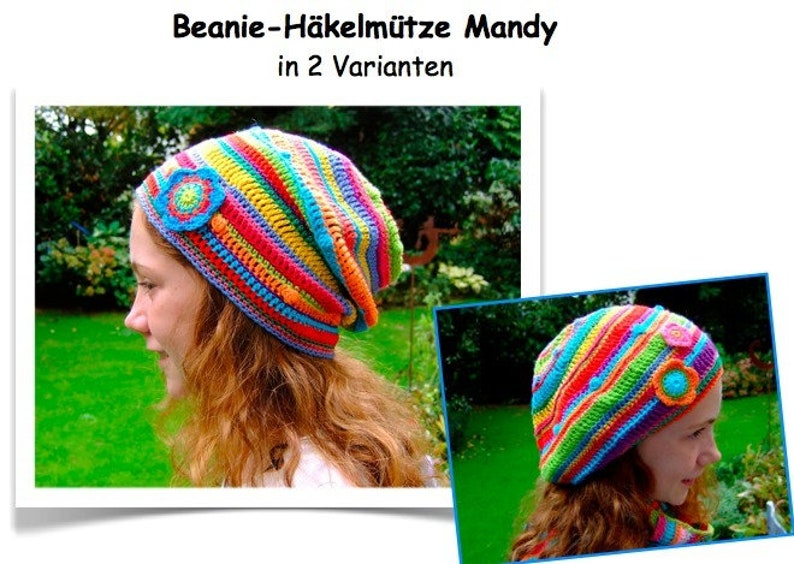 ebook Guide for a crochet cap Mandy image 0