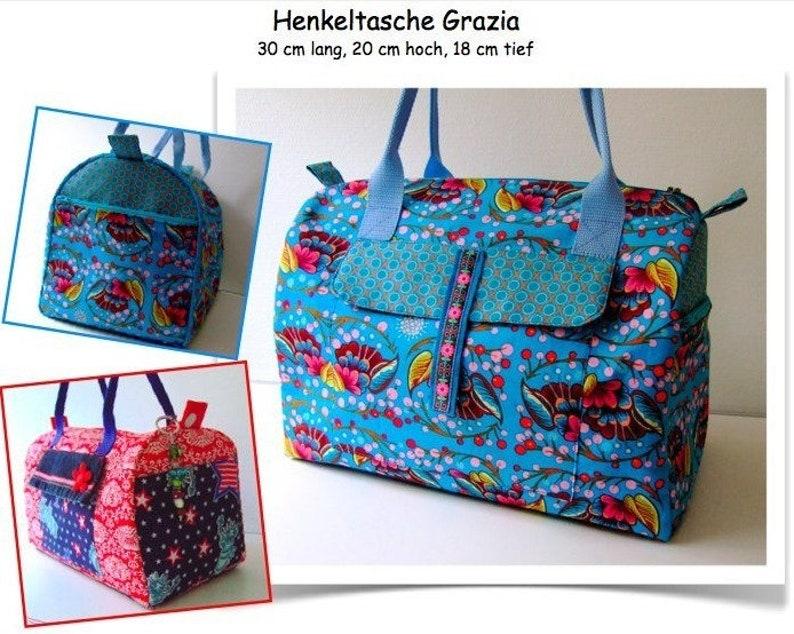 ebook/Manual Tote Bag Grazia image 0