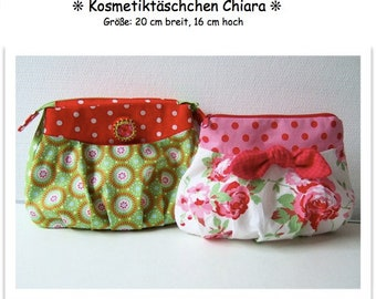 ebook/Instructions Cosmetic bag Chiara