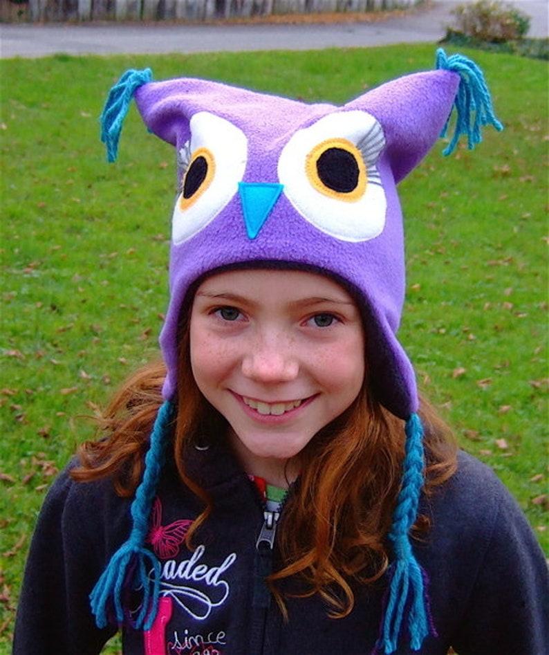 ebook Instructions owl beanie mina image 0