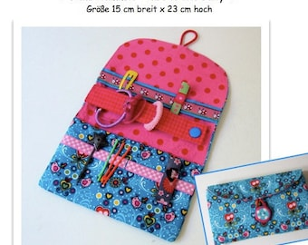 Guide, ebook hair clasp pouch
