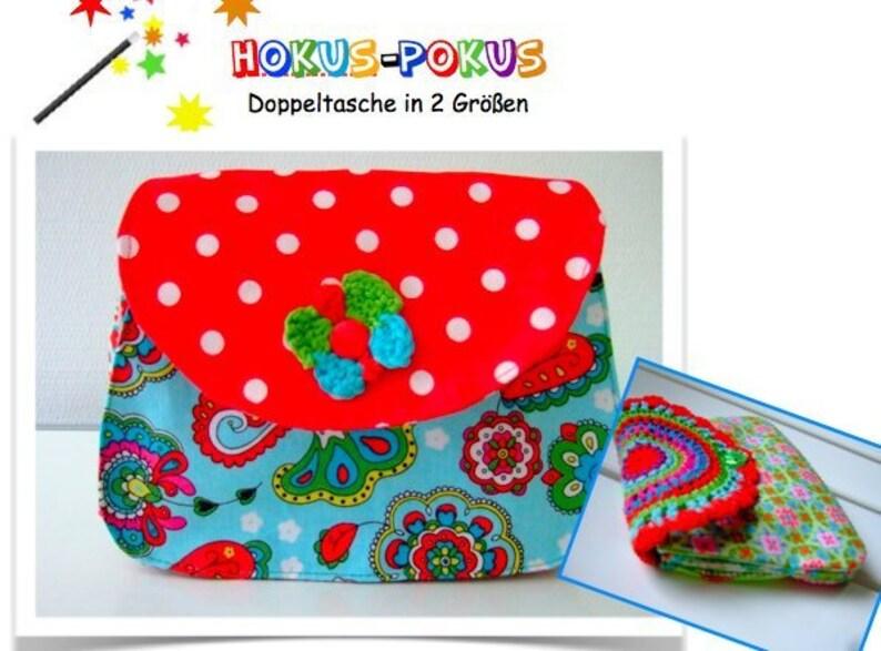 ebook/Instructions Double purse hocus-pocus image 0