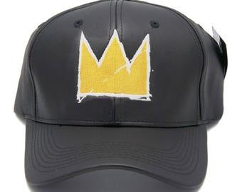 77733632 Basquiat Crown dad hat