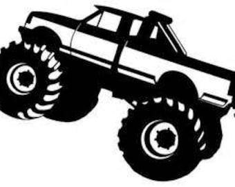 monster truck svg