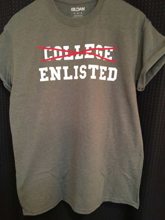 College Enrole Tshirt Sest Engage Militaire Sengager Etsy