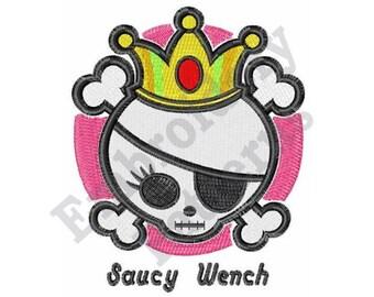 Saucy Wench - Machine Embroidery Design
