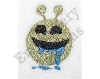 Sloppy Alien - Machine Embroidery Design
