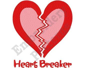 Heart Breaker - Machine Embroidery Design