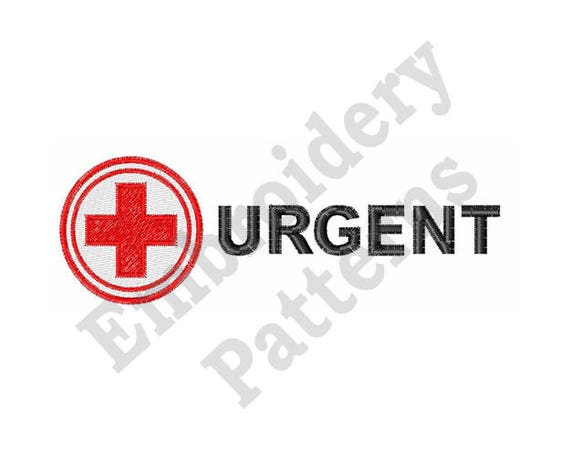 Red Cross Medical Symbol Machine Embroidery Design Etsy