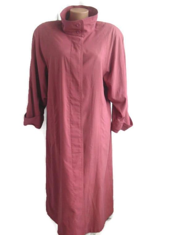 Trench coat women Plus size long overcoat women Du